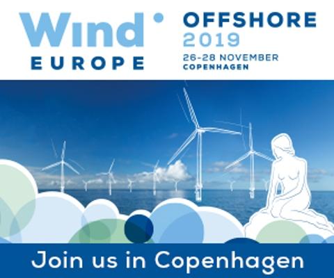 WIND EUROPE Offshore 2019 Copenhagen